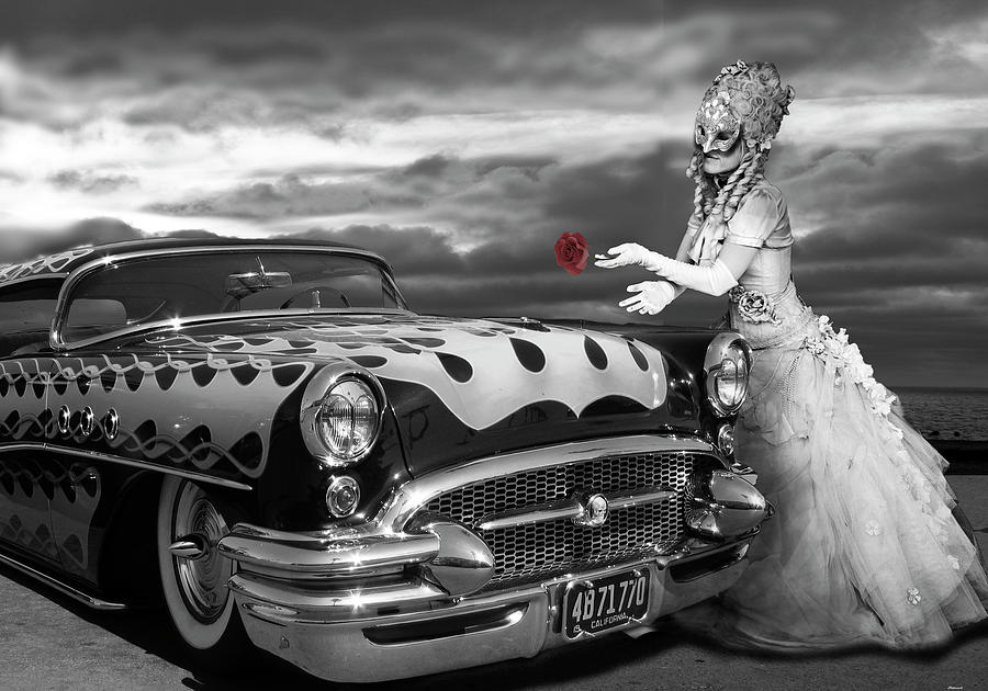 Surrealism Digital Art - The Prince Of The Highway by Larry Butterworth