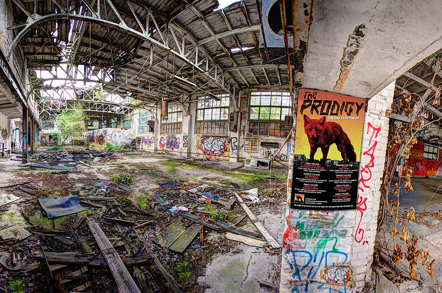 Music Photograph - The Prodigy In Berlin by Mal Bray