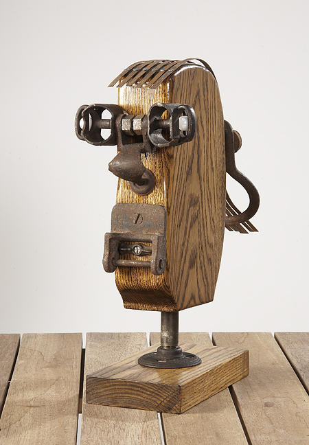 Sculpture Mixed Media - The Professor by Jeff Grassie