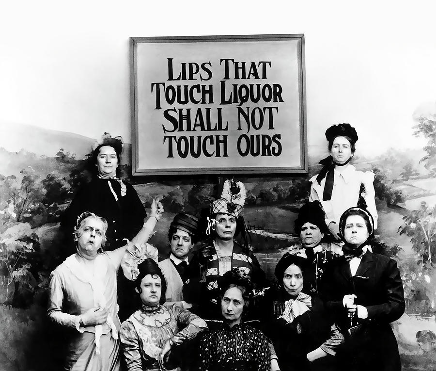 Prohibition Photograph - The Prohibition Temperance League 1920 by Daniel Hagerman