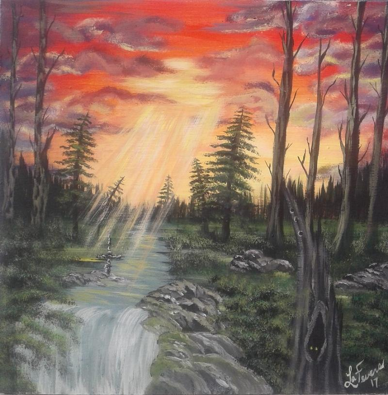 Paradise Painting - The Promise by Lori Lafevers