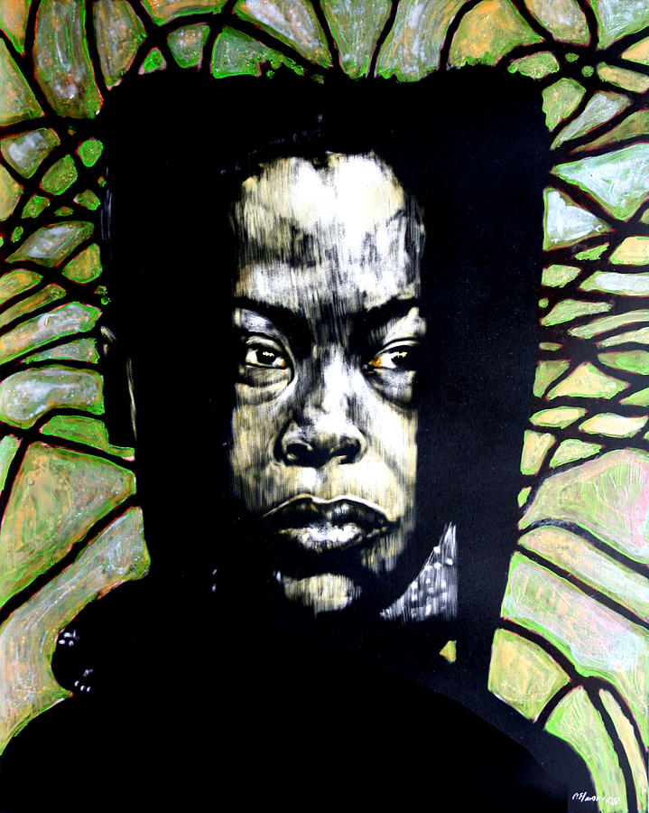 Portraits Mixed Media - The Promise Of Spring by Chester Elmore