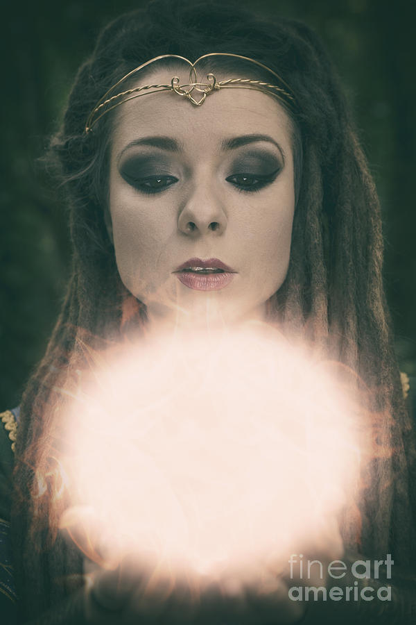 Woman Photograph - The Prophecy by Clayton Bastiani