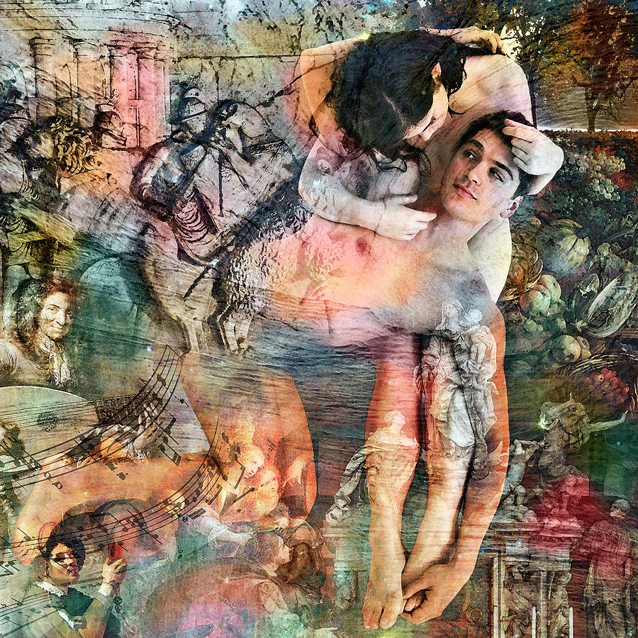 Kahlil Gibran Digital Art - The Prophet On Eating And Drinking by Barry Novis