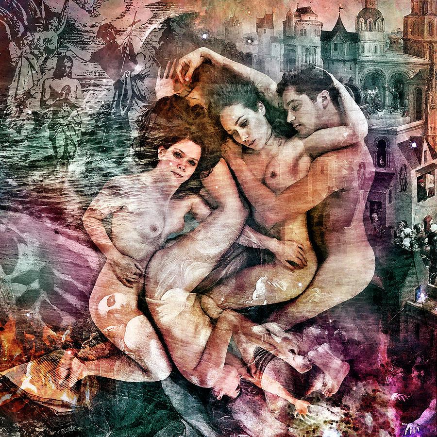 Kahlil Gibran Digital Art - The Prophet On Freedom by Barry Novis