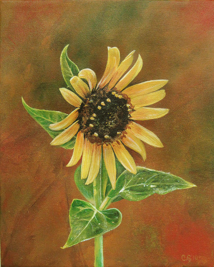 Flower Painting - The Proven Light by Carrie Jackson