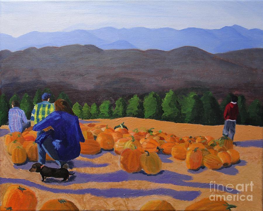 The Pumpkin Patch by Marina McLain