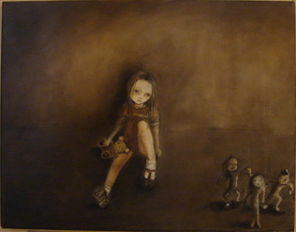 Puppet Painting - The Puppet Show by Mya Fitzpatrick