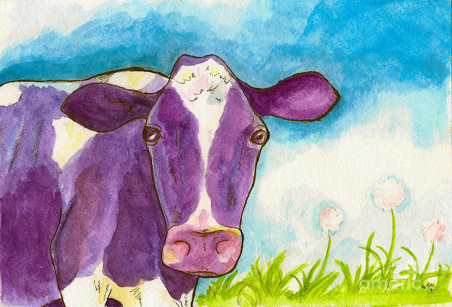 The Purple Cow by Whitney Morton