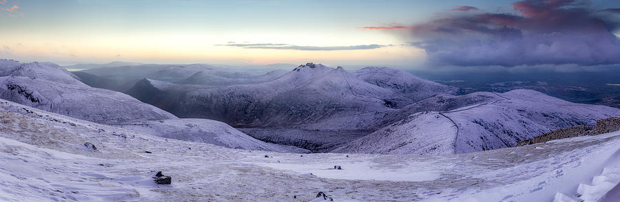 County Down Photograph - The Purple Headed Mountains by Glen Sumner