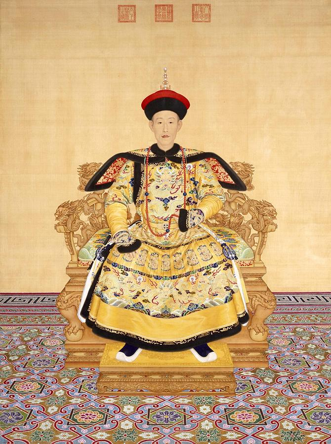 King Painting - The Qianlong Emperor As A Young Man by MotionAge Designs