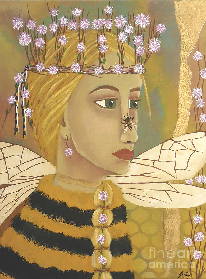The Queen Bee's Honeycomb by Jean Fry