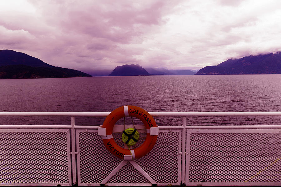 Ship Photograph - The Queen Of Coquitlan by Jeff Swan