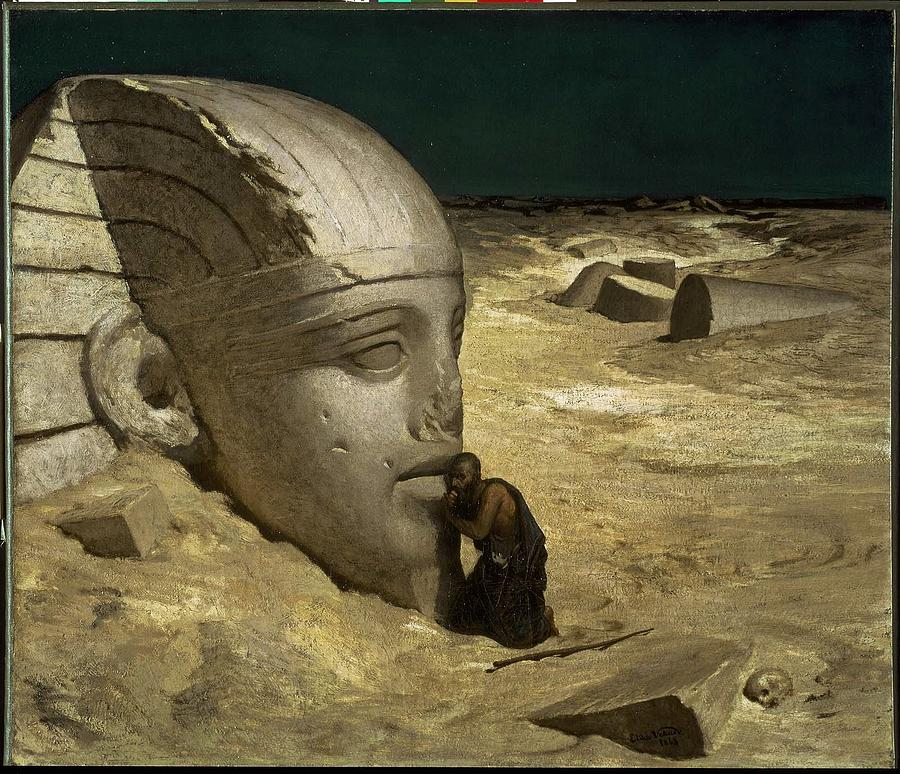 The Questioner Of The Sphinx Painting