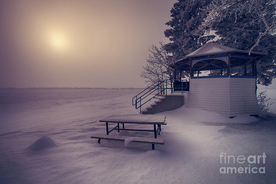 Canada Photograph - The Quiet Place by Ian McGregor