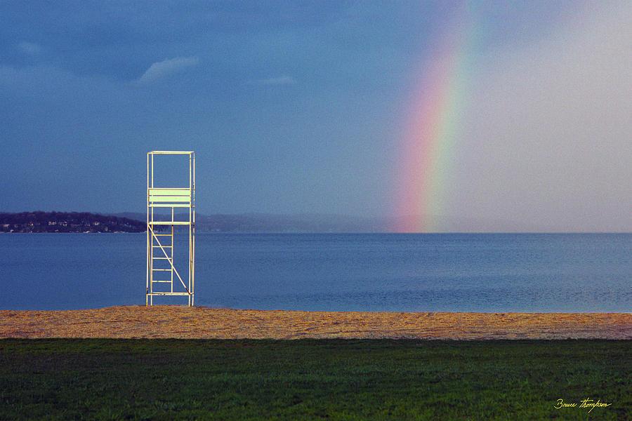 The Quiet Season - Lake Geneva Wisconsin by Bruce Thompson