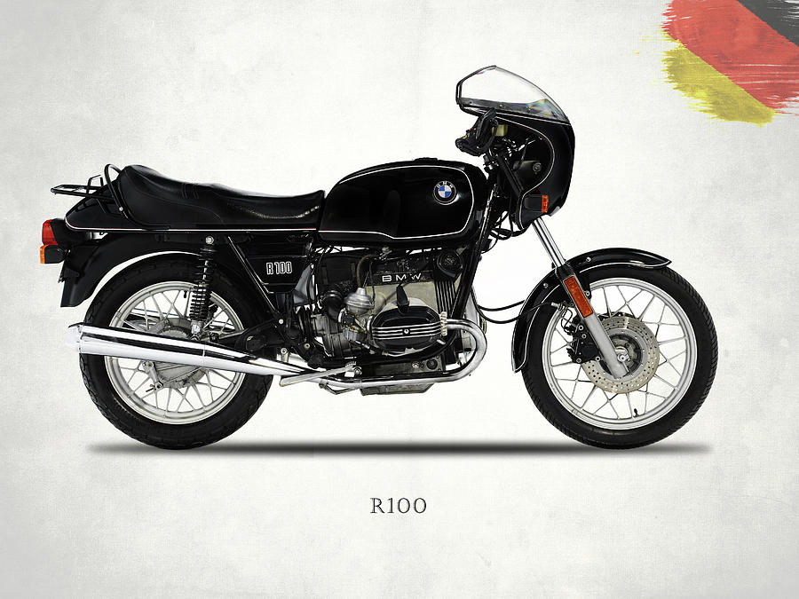 Bmw Photograph - The R100 1984 by Mark Rogan