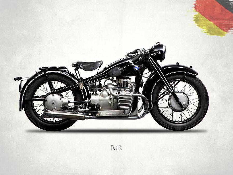 Bmw Photograph - The R12 1935 by Mark Rogan