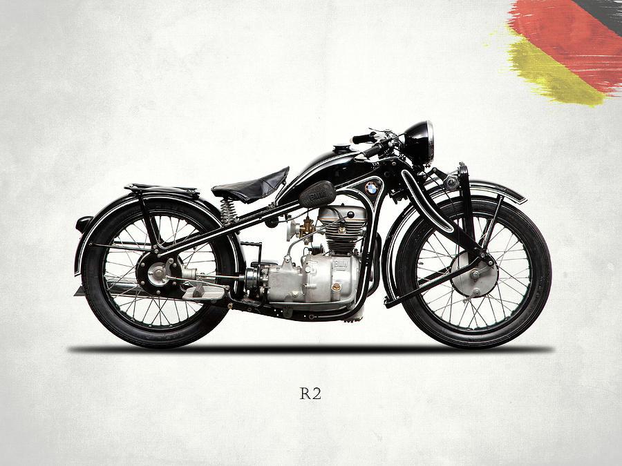 Bmw Photograph - The R2 1931 by Mark Rogan