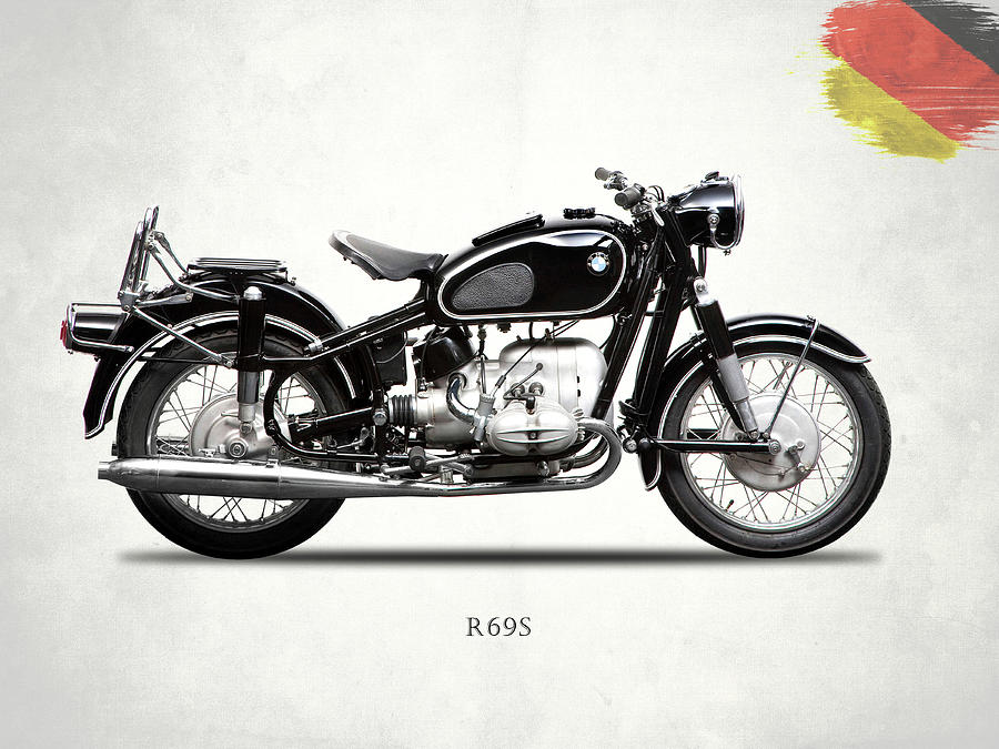 Bmw R69s Photograph - The R69s by Mark Rogan