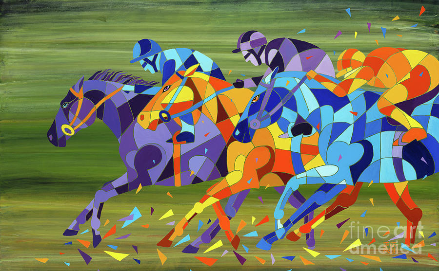 The Race is On by Barbara Rush