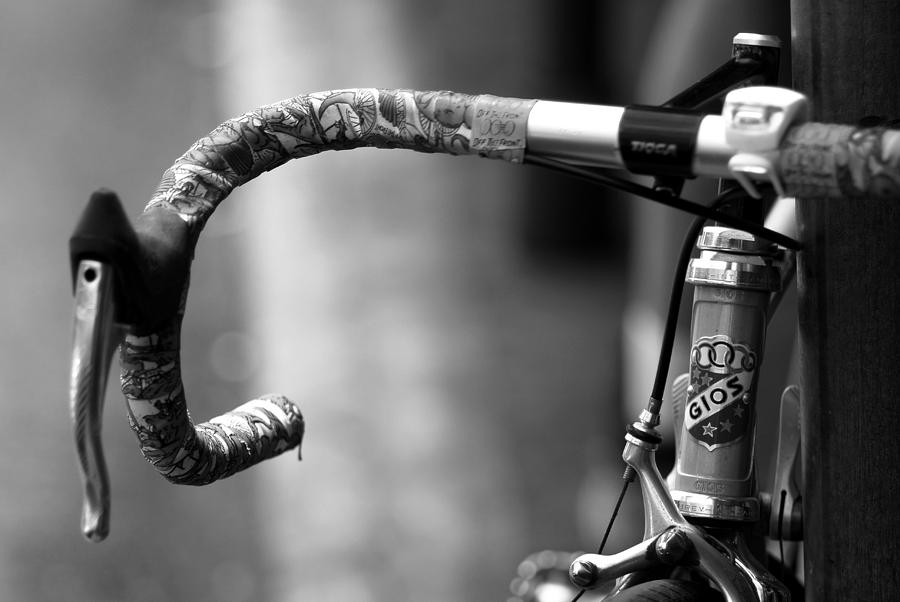 Bicycle Photograph - The Racers Edge by Wayne Archer