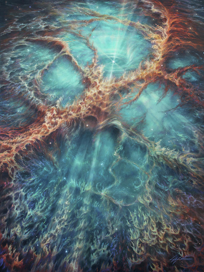 The Racing Heart of the Crab Nebula by Lucy West