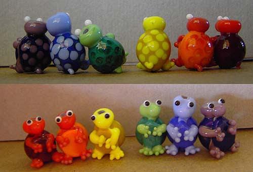 Rainbow Sculpture - The Rainbow Gang by Cecilia Alvarez