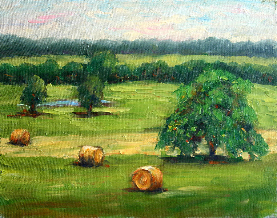 Landscape Painting - The Ranch by Lucy Williams