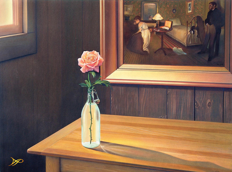 Rose Painting - The Rape by Patrick Anthony Pierson