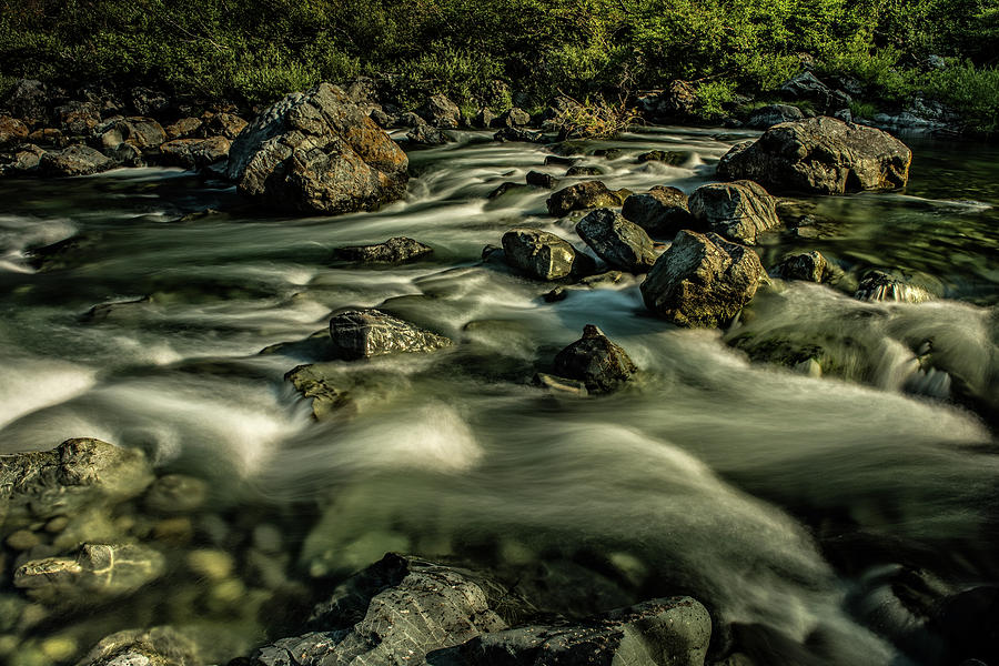 The Rapids by George Buxbaum