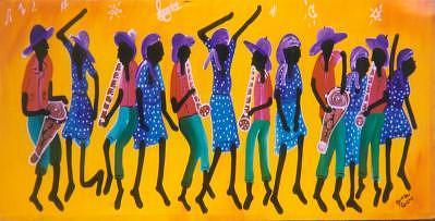 Rara Painting - The Rara by Duncan Roseme