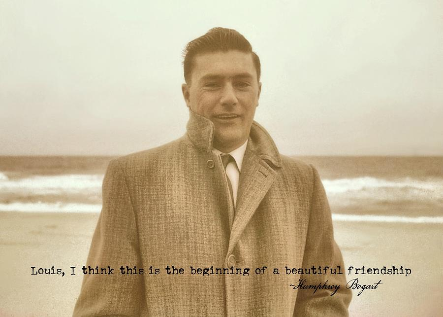 Vintage Photograph - The Rat Pack Quote by JAMART Photography