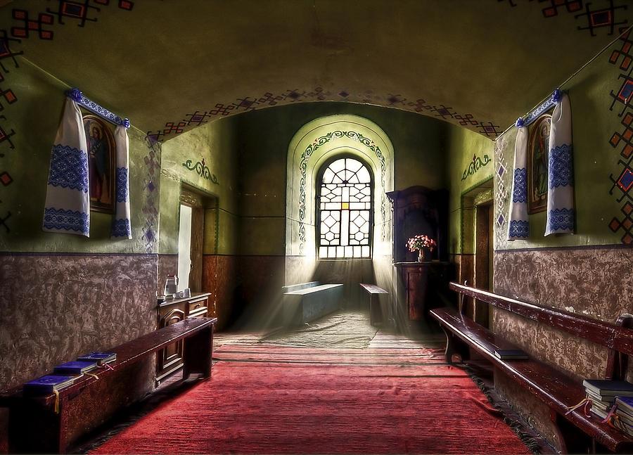 Church Photograph - The Reading Room by Evelina Kremsdorf