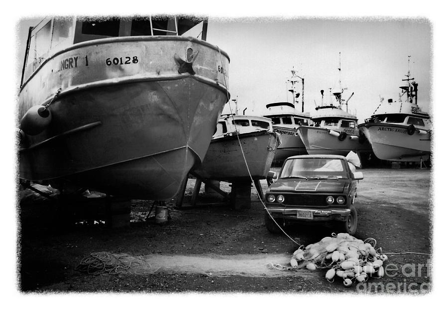 Alaska Photograph - The Real Alaska - Dry Dock 1 by Pete Hellmann