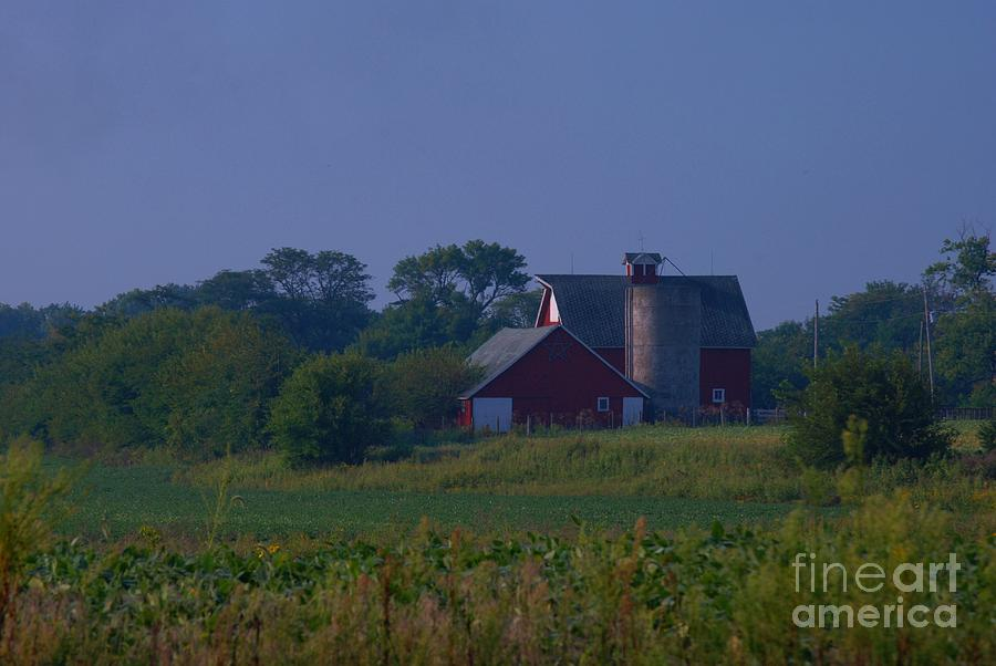The Red Barn Photograph by Michelle Hastings