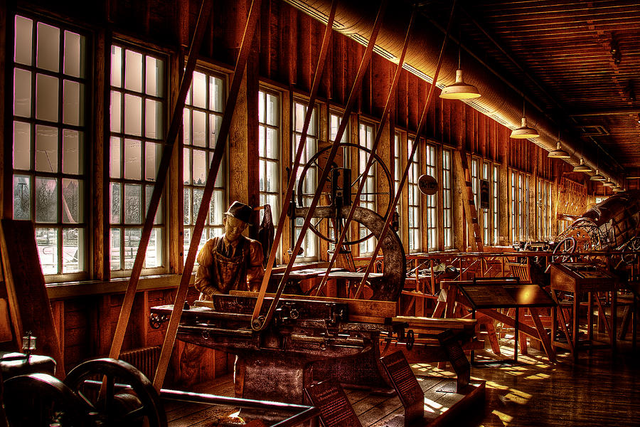David Patterson Photograph - The Red Barn Of The Boeing Company Iv by David Patterson