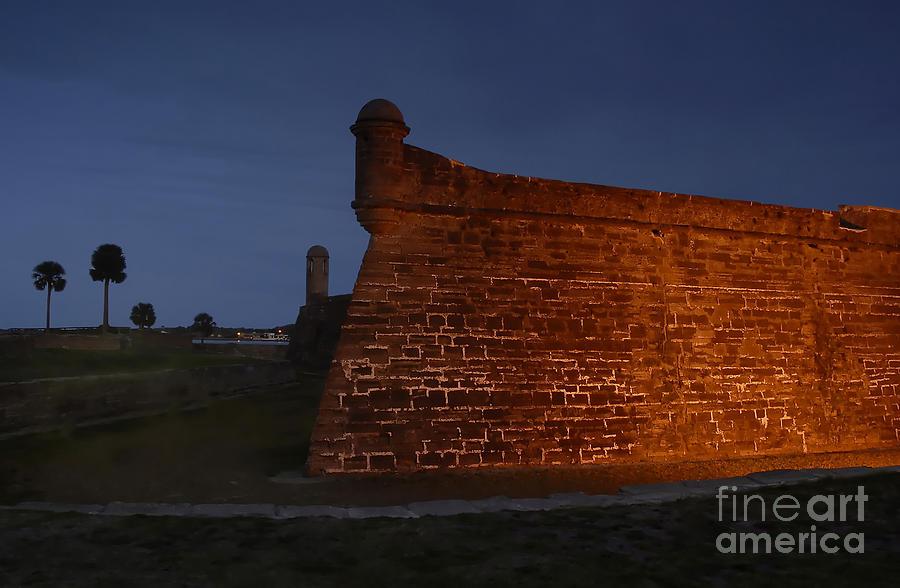Castillo Photograph - The Red Castillo by David Lee Thompson
