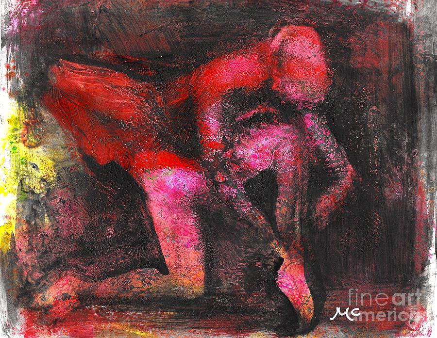The Red Dancer by Mafalda Cento