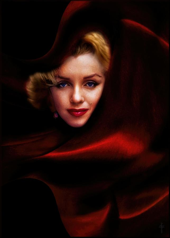 The Red Queen Photograph - The Red Queen  by Daniel Arrhakis