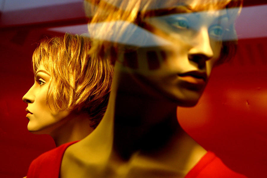 Photographer Photograph - The Red Twins by Jez C Self