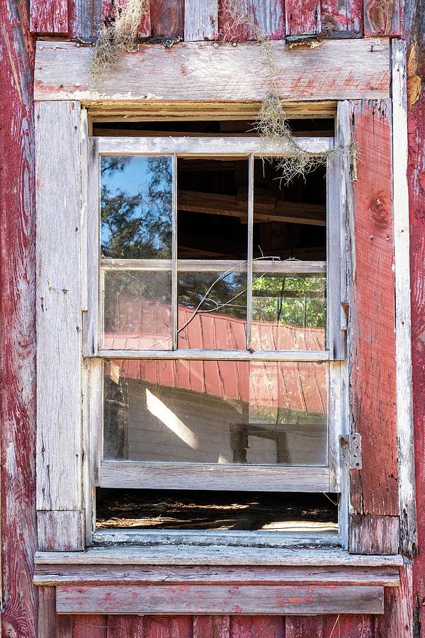 The Red Window, Cumberland Island, Georgia by Dawna Moore Photography