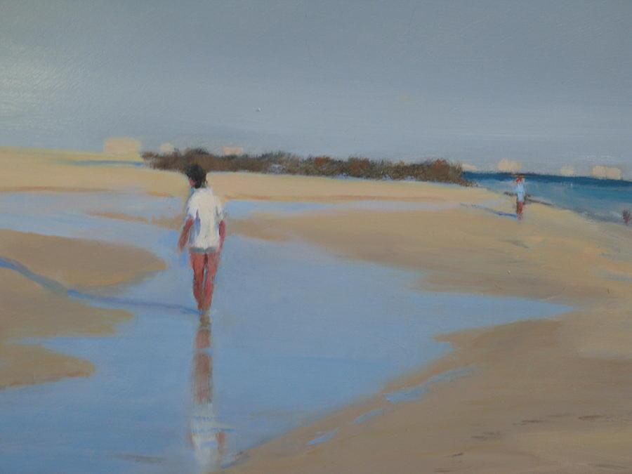 The Reflection Painting by Frank Sadera