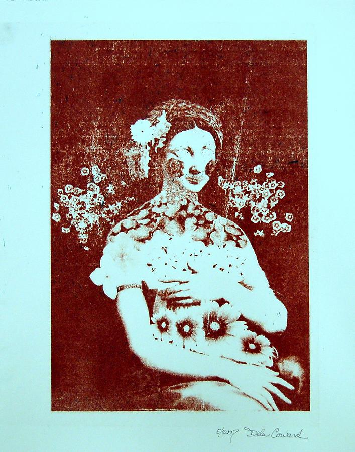 Abstract Print - The Renaissance Woman by DeLa Hayes Coward