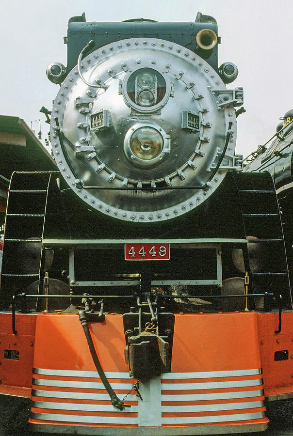 The Restored Southen Pacific Daylight Locomotive No. 4449 by Frank DiMarco