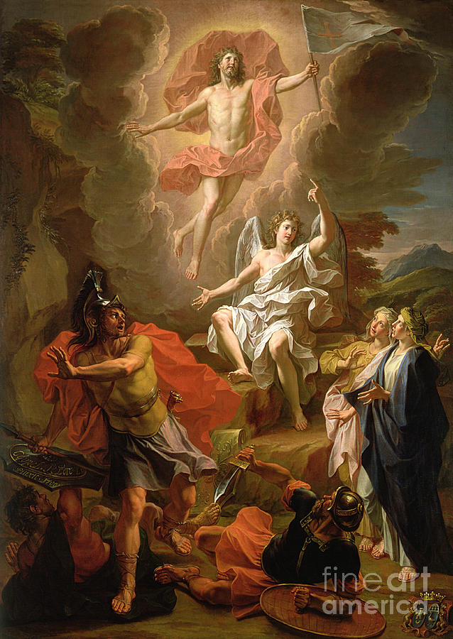 The Resurrection Of Christ Painting - The Resurrection Of Christ by Noel Coypel