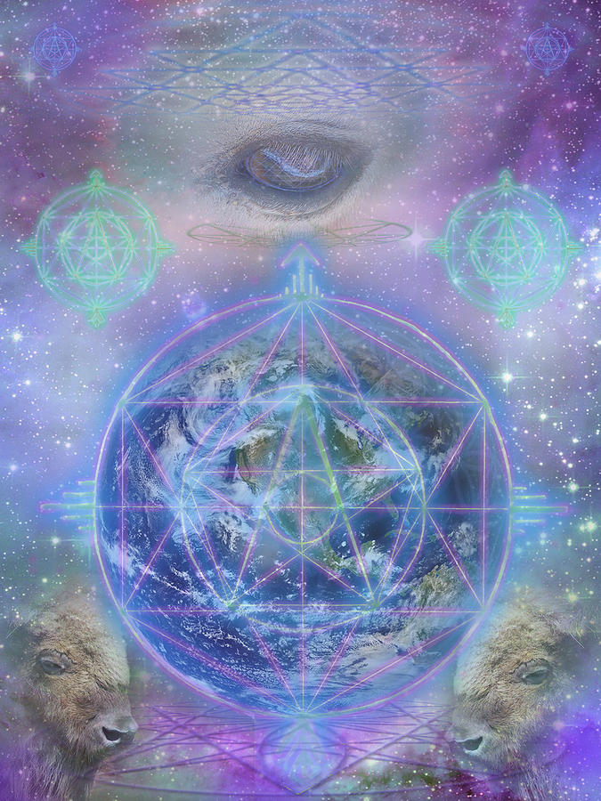 Cosmic Digital Art - The Return by Jahsah Ananda