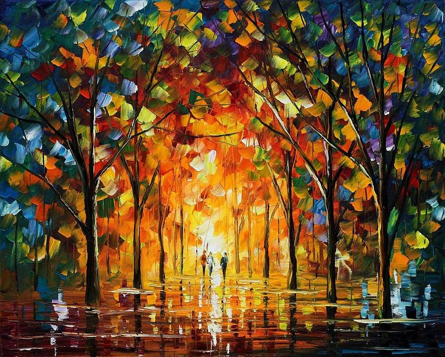 Afremov Painting - The Return Of The Sun by Leonid Afremov