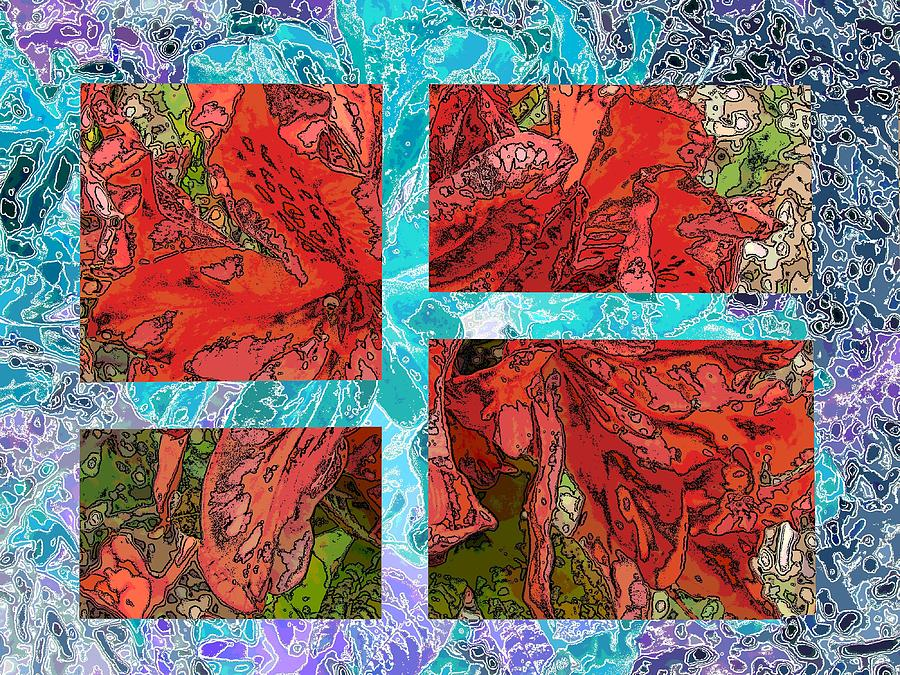 Abstract Digital Art - The Rhody 05 by Tim Allen