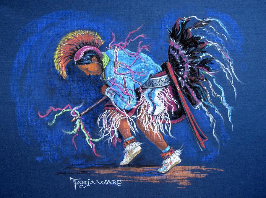 Native American Painting - The Ribbon Shirt by Tanja Ware
